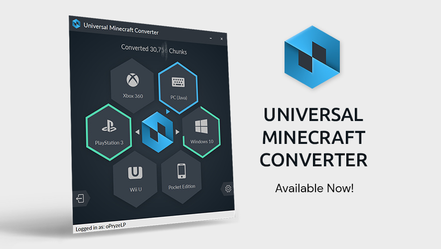 Universal Minecraft Converter Available Now V1 0 0 Universal Minecraft Converter